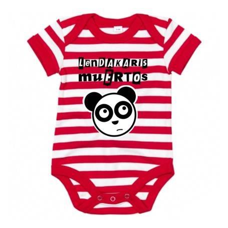 """Body bebé rayas  """"Logo + Oso"""""""