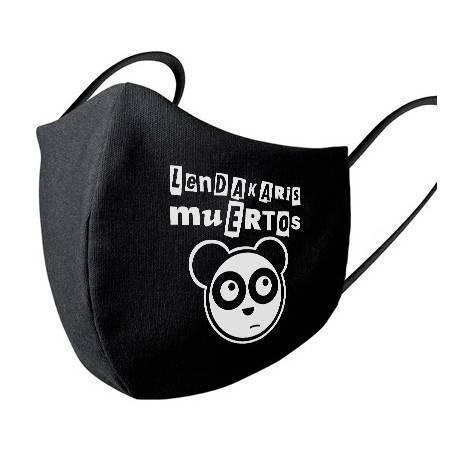 """Mascarilla negra """"Logo +..."""