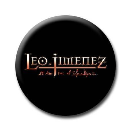"""Chapa """"Logo 20 Años Tras El..."""