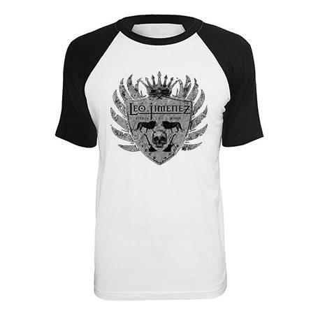 """Camiseta ranglan """"Escudo Gris"""""""