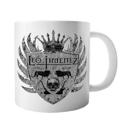 """Taza cerámica """"Escudo Gris"""""""