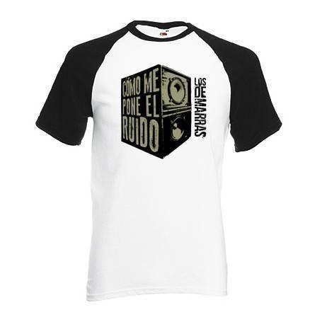 "Camiseta Ranglan ""Ruido"""