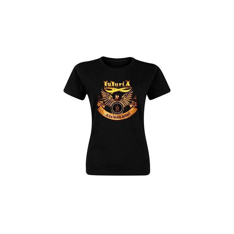 "Camiseta negra chica ""La Yesca Clásica"""
