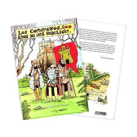 """Cómic """"Comuneros 500 años..."""