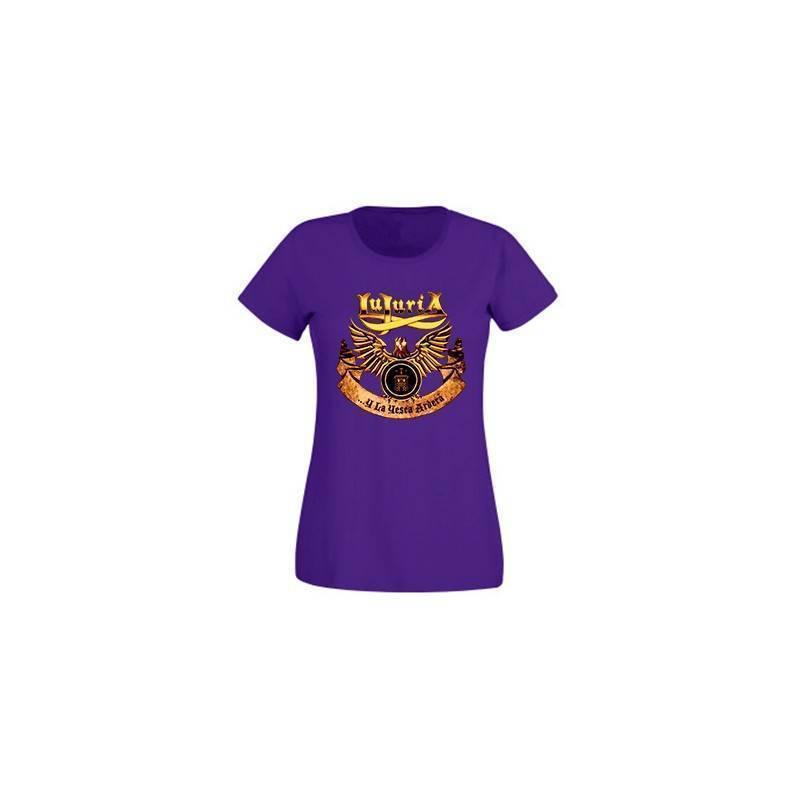 "Camiseta morada chica ""La Yesca Clásica"""