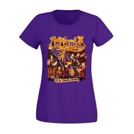 "Camiseta morada chica ""Portada La Yesca"""