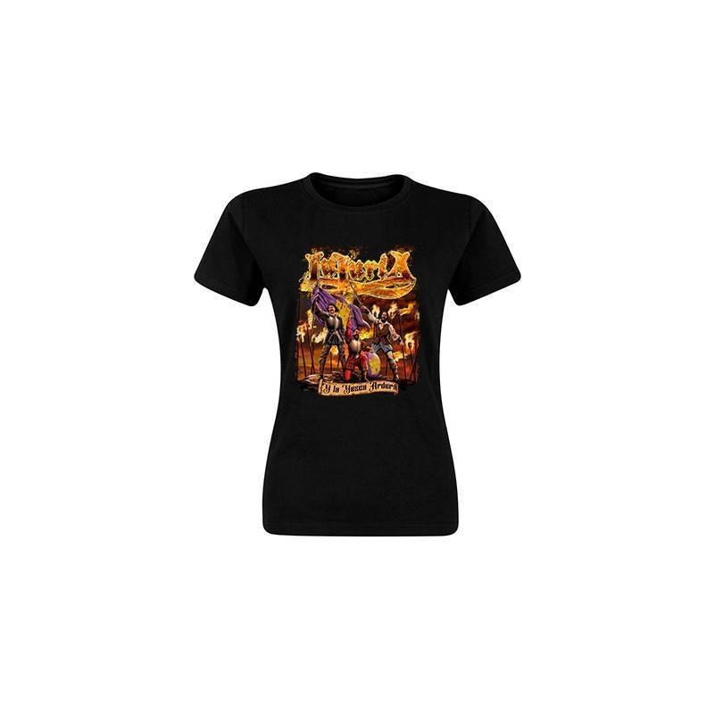 "Camiseta negra chica ""Portada La Yesca"""