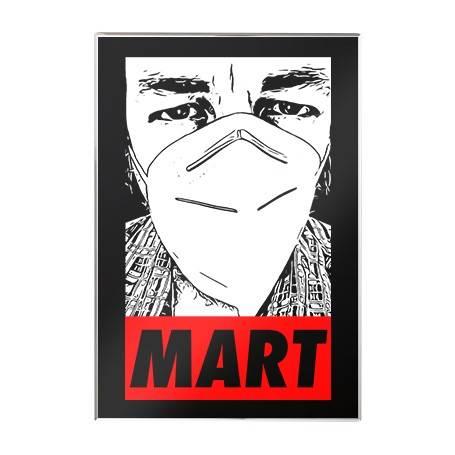 """Imán acrílico """"Mart"""""""