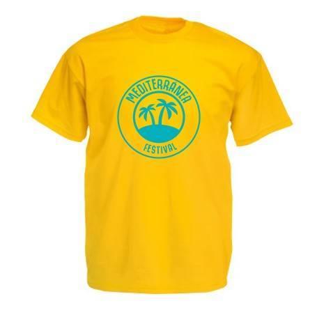 Camiseta amarilla...
