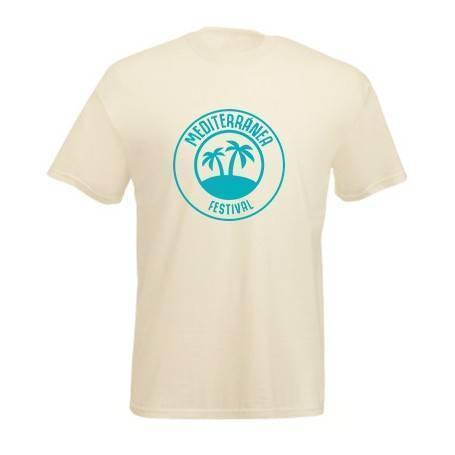 Camiseta beige...