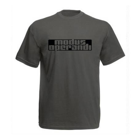 "Camiseta ""Logotipo"" en negro"
