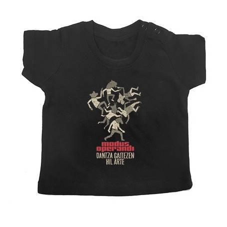 """Camiseta bebé """"Dantza"""""""