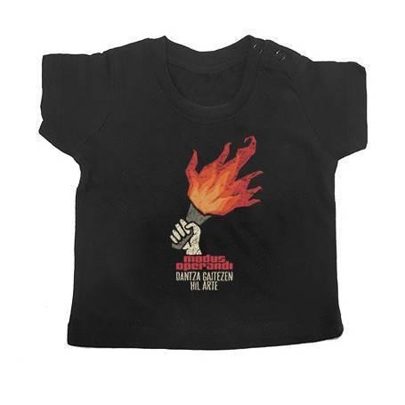 "Camiseta bebé ""Antorcha"""