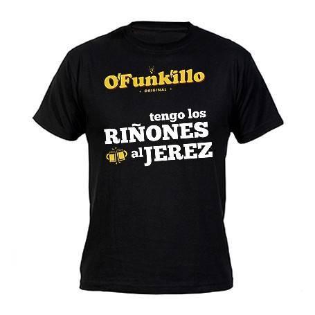 """Camiseta """"Riñones al Jerez"""""""