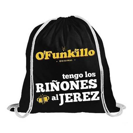 "Mochila ""Riñones al Jerez"""