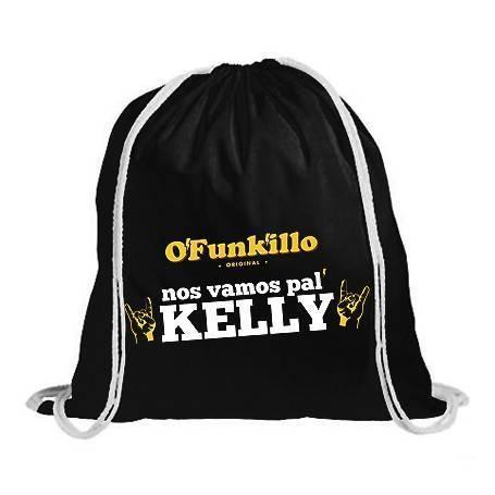 """Mochila """"Nos Vamos pal Kelly"""""""