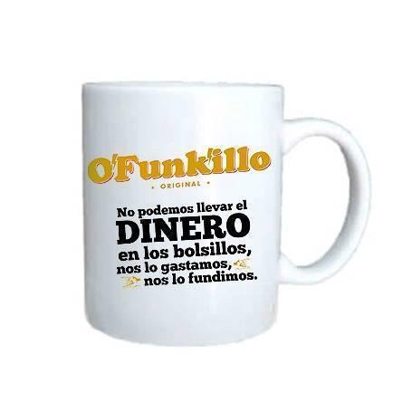 """Taza cerámica """"Los Dineros"""""""