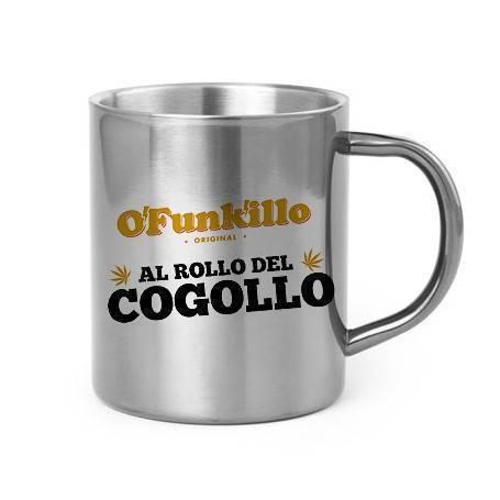 "Taza metálica ""Al Rollo del..."