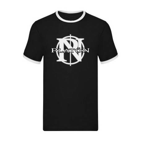 "Camiseta con ribete ""Logo"""