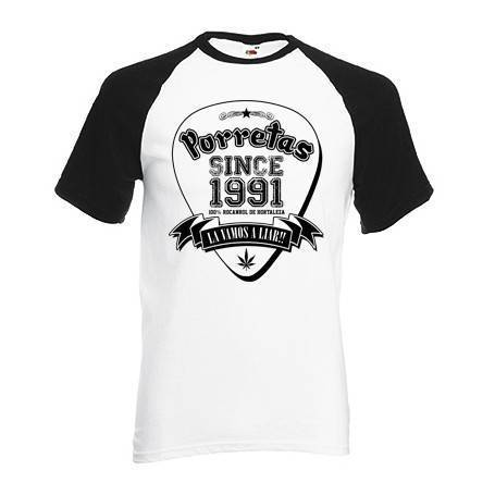 "Camiseta ranglan ""Since 1991"""