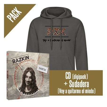 "PACK [CD ""Norte"" + SUDADERA..."