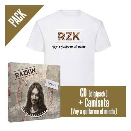 """PACK [CD """"Norte"""" + CAMISETA..."""