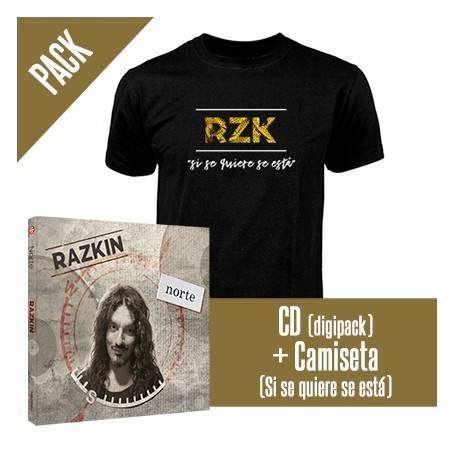 """PACK [CD """"Norte"""" + CAMISETA """"Si se quiere"""""""