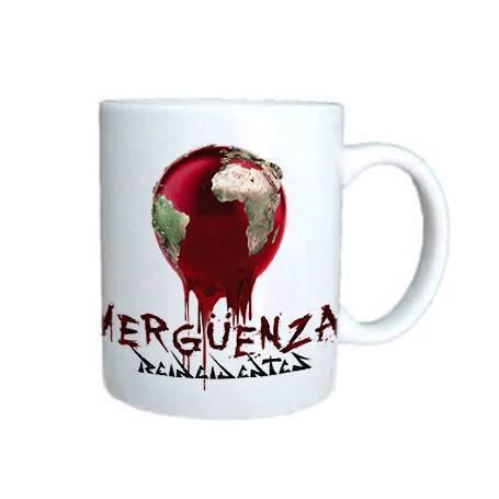 "Taza cerámica ""Vergüenza"""
