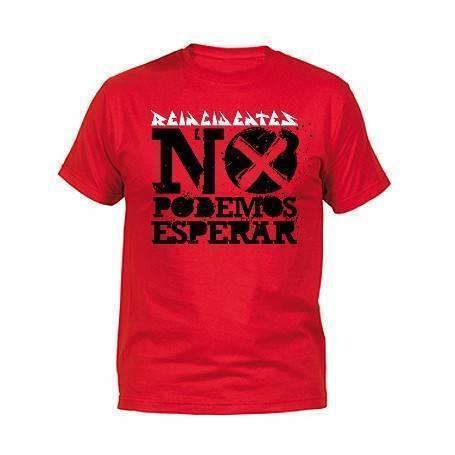 """Camiseta """"No podemos esperar"""""""