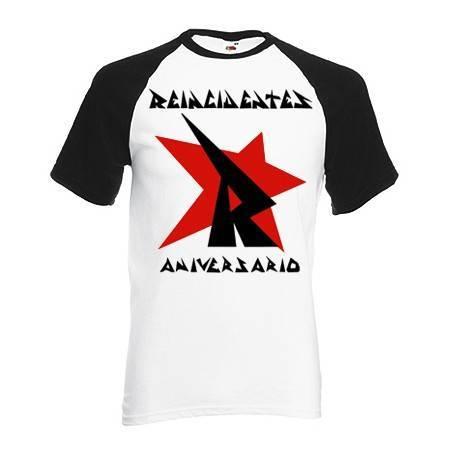 "Camiseta ranglan ""Aniversario"""