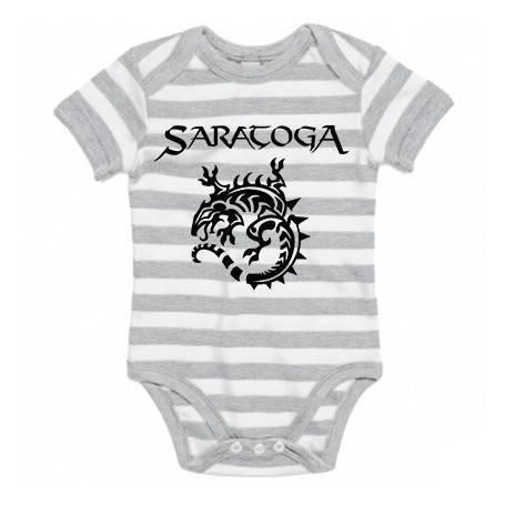 "Body bebé rayas ""Logo +..."