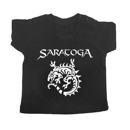 "Camiseta bebé ""Logo + Iguana"""