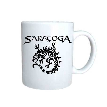 """Taza cerámica """"Logo+Iguana"""""""