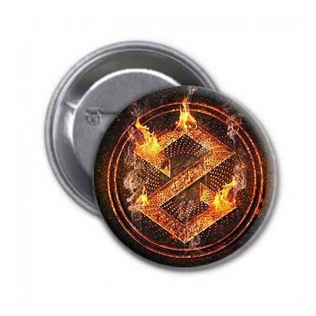 "Chapa  ""Logo Fuego"""