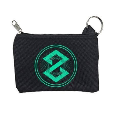 """Monedero-llavero """"Logo verde"""""""