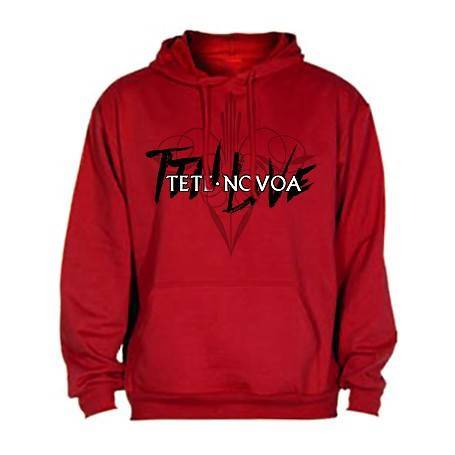 "Sudadera ""TTN Live blanco y..."
