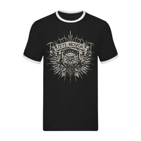 "Camiseta con ribete ""Águila"""