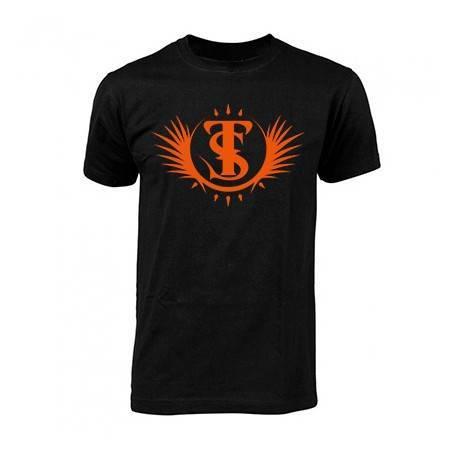 "Camiseta negra chico ""Logotipo"""