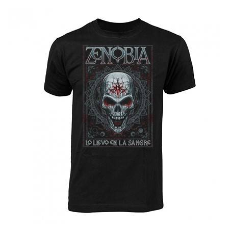 "Camiseta ""Skull & Blood"""