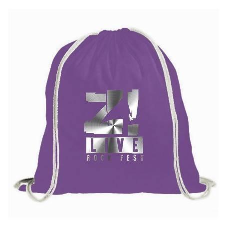 "Mochila ""Logo gris Z LIVE"""