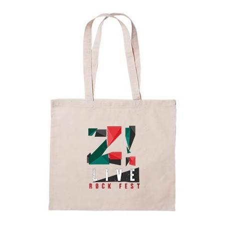 "Bolsa de tela ""Logo color Z..."