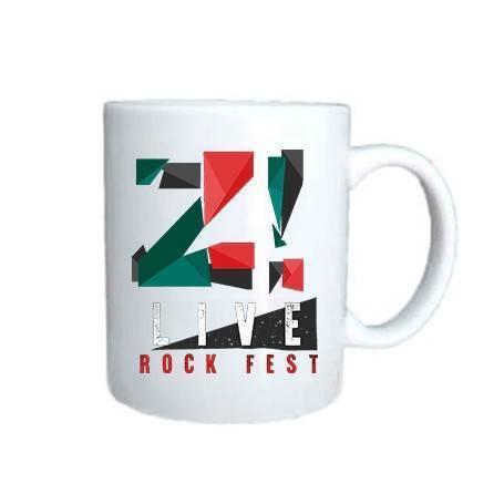 """Taza cerámica """"Logo color Z..."""