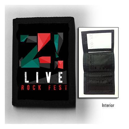 "Cartera ""Logo color Z LIVE"""