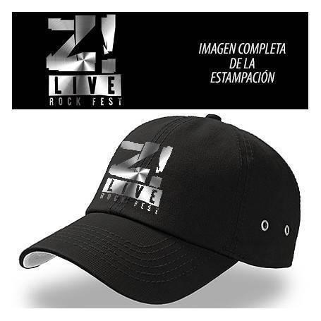 "Gorra ""Logo gris Z LIVE"""