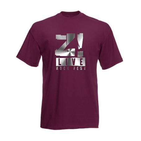 "Camiseta ""Logo gris Z LIVE"""