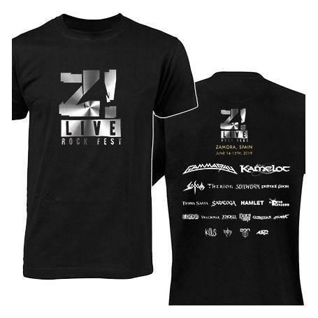 "Camiseta ""Logo gris Z LIVE""..."