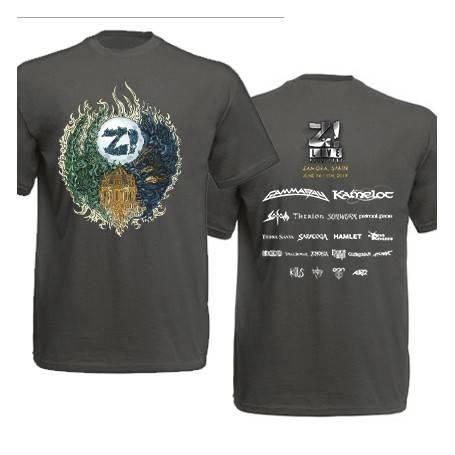 Camiseta con trasera...