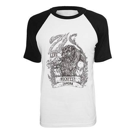 """Camiseta ranglan """"Vikingo"""""""