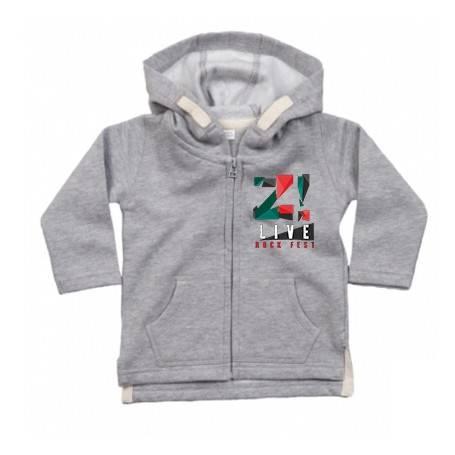 """Sudadera bebé """"Logo color Z..."""
