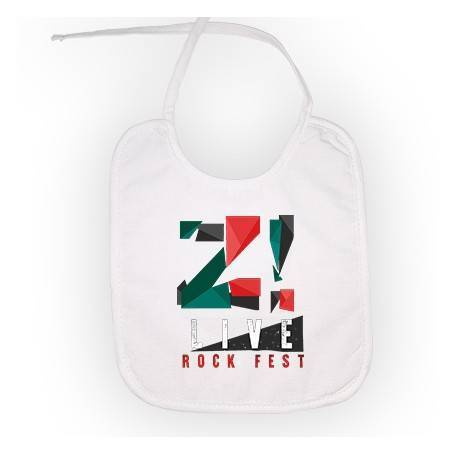 "Babero ""Logo color Z LIVE"""
